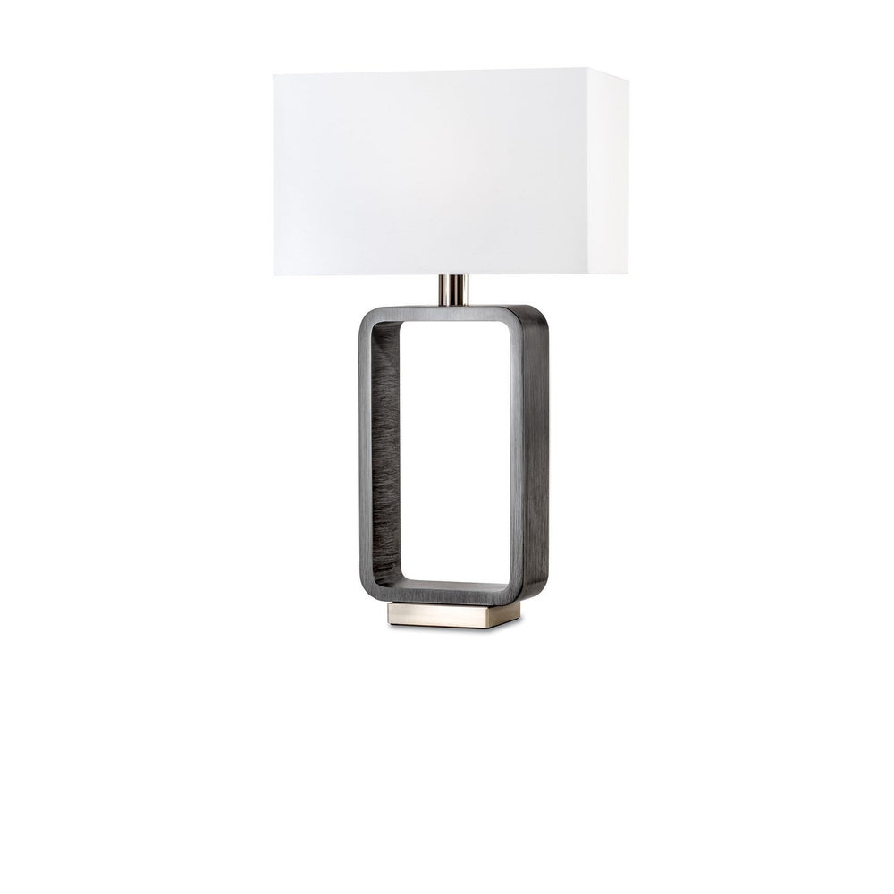 Tracey Table Lamp Charcoal Gray