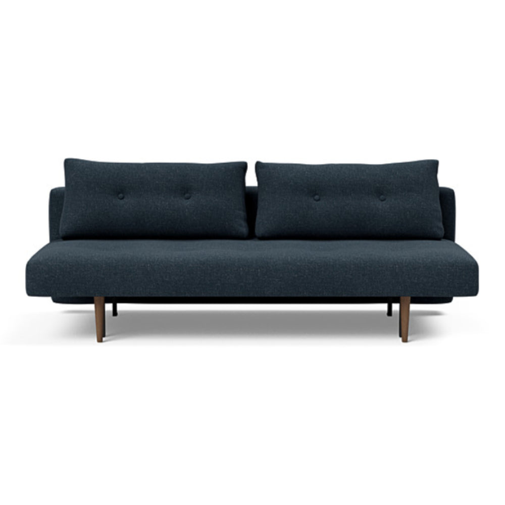 Recast Plus Sofa Bed Dark Styletto 515 Nist Blue 515 Nist Blue Daybed INNOVATION Old Bones Furniture Company https://www.oldbonesco.com/