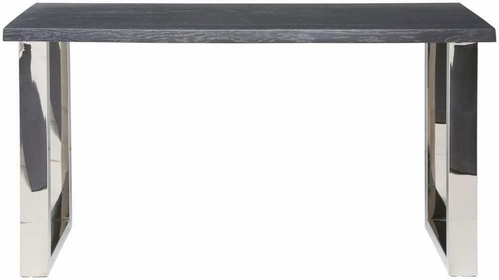 Lyon Oxidized Grey Wood Console Table   TABLE Nuevo Four Hands, Mid Century Modern Furniture, Old Bones Furniture Company, https://www.oldbonesco.com/