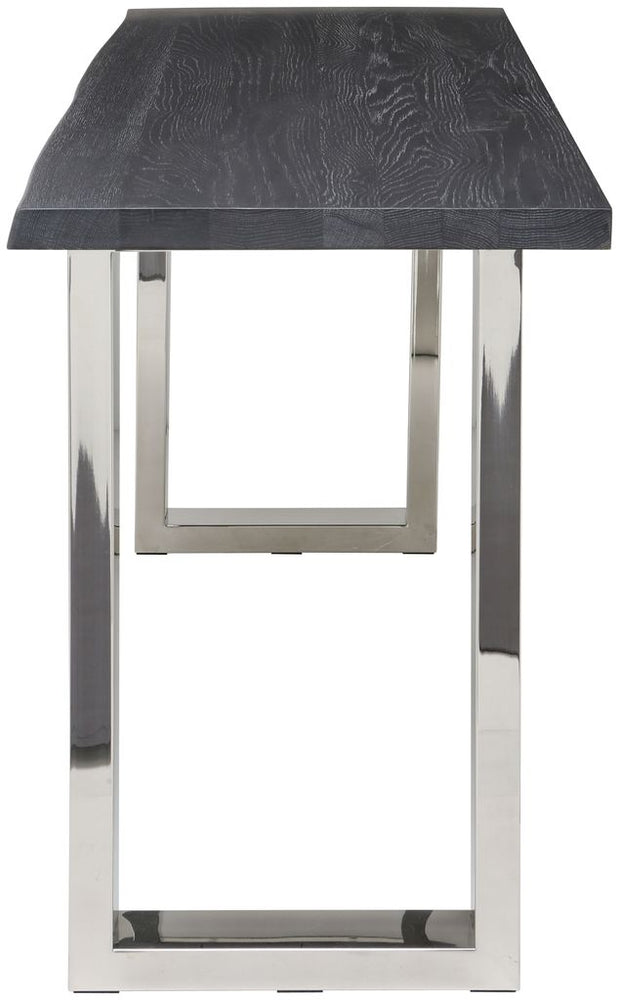 Lyon Oxidized Grey Wood Console Table