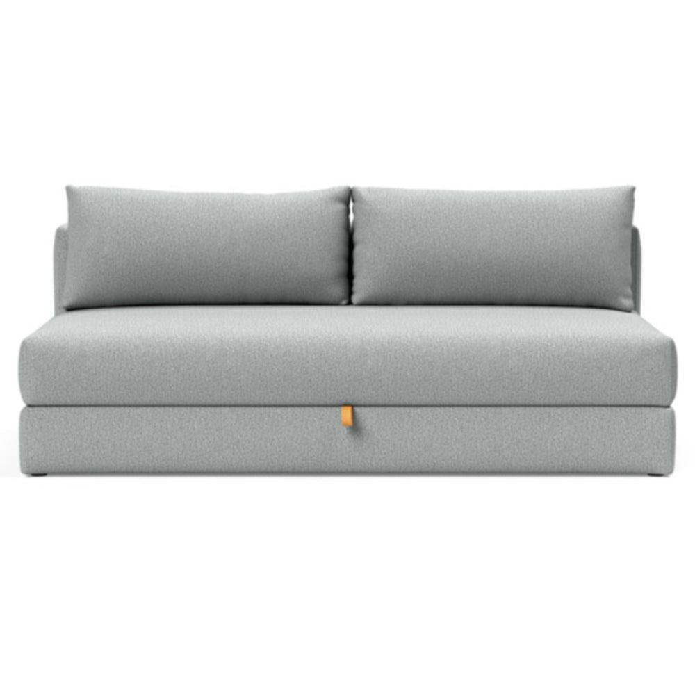 Osvald Sofa Bed 538 Melange Light Grey 538 Melange Light Grey sleeper sofa INNOVATION Four Hands, Mid Century Modern Furniture, Old Bones Furniture Company, https://www.oldbonesco.com/