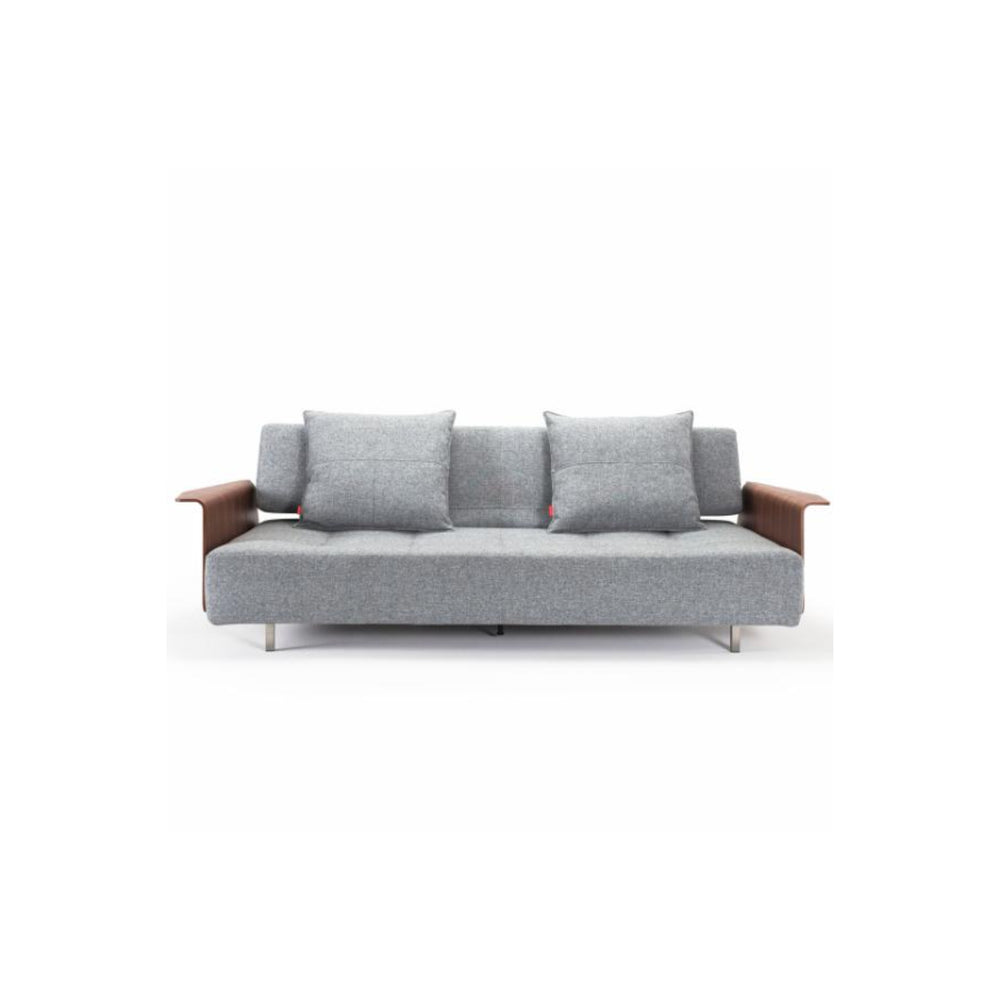 Long Horn D.E. Sofa Bed With Arms 565 Twist Granite 565 Twist Granite Daybed INNOVATION Old Bones Furniture Company https://www.oldbonesco.com/