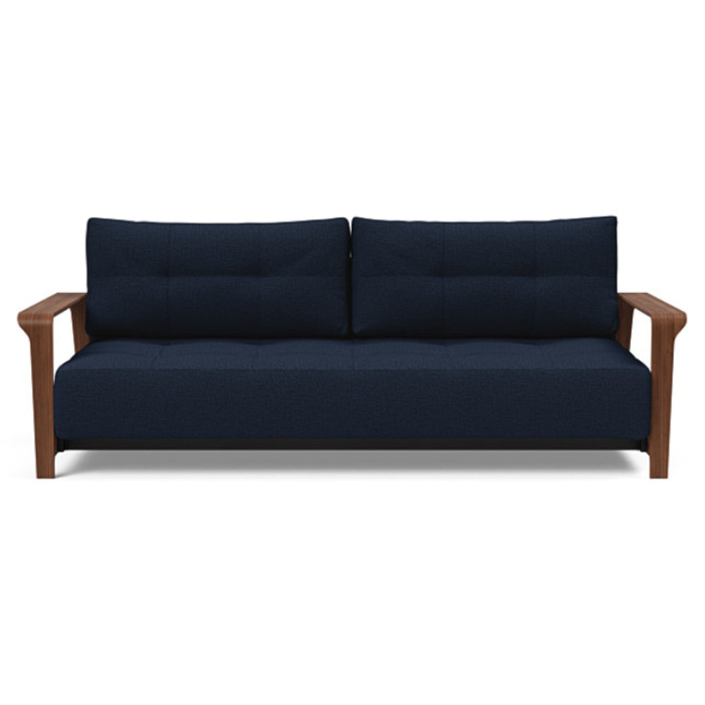 Ran D.E.L Sofa Bed Queen / 528 Mixed Dance Blue Queen sofa beds INNOVATION Four Hands, Mid Century Modern Furniture, Old Bones Furniture Company, https://www.oldbonesco.com/