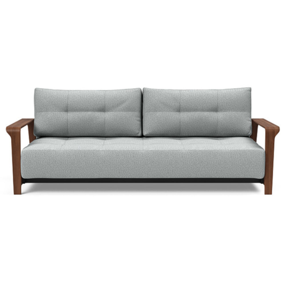 Ran D.E.L Sofa Bed Queen / 538 Melange Light Grey Queen sofa beds INNOVATION Four Hands, Mid Century Modern Furniture, Old Bones Furniture Company, https://www.oldbonesco.com/