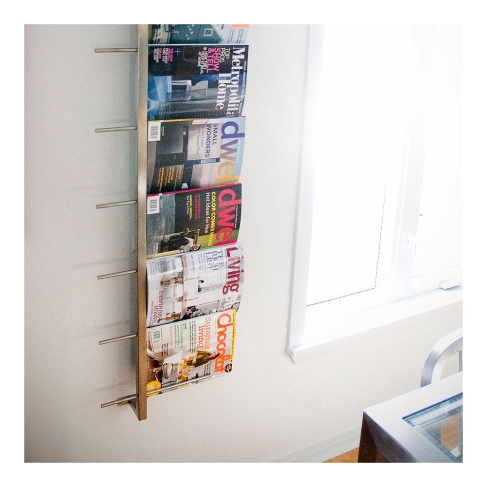 Magazine Rack   Accessories Gus* Four Hands, Mid Century Modern Furniture, Old Bones Furniture Company, https://www.oldbonesco.com/