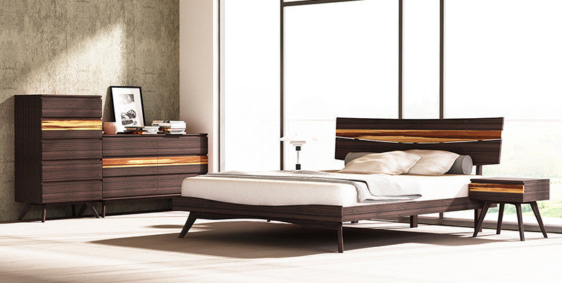 Azara King Platform Bed, Sable http://www.oldbonesco.com/ Bed  - 3