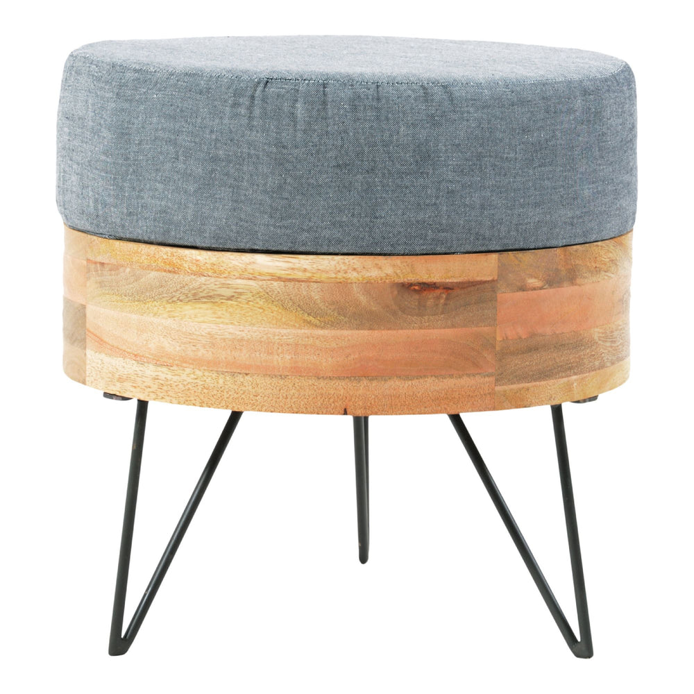 Pouf Round   Nightstand/End Table Moe's Four Hands, Mid Century Modern Furniture, Old Bones Furniture Company, https://www.oldbonesco.com/