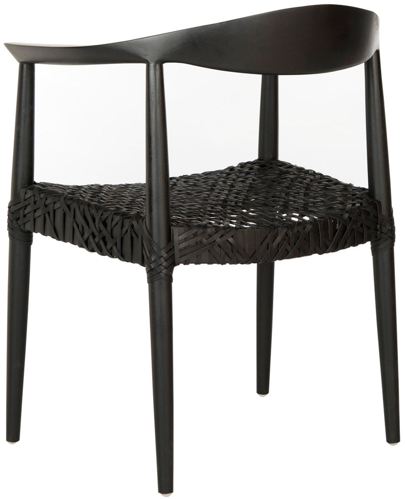 Bandelier Arm Chair, https://www.oldbonesco.com/products/bandelier-arm-chair-black?variant=31394028814393