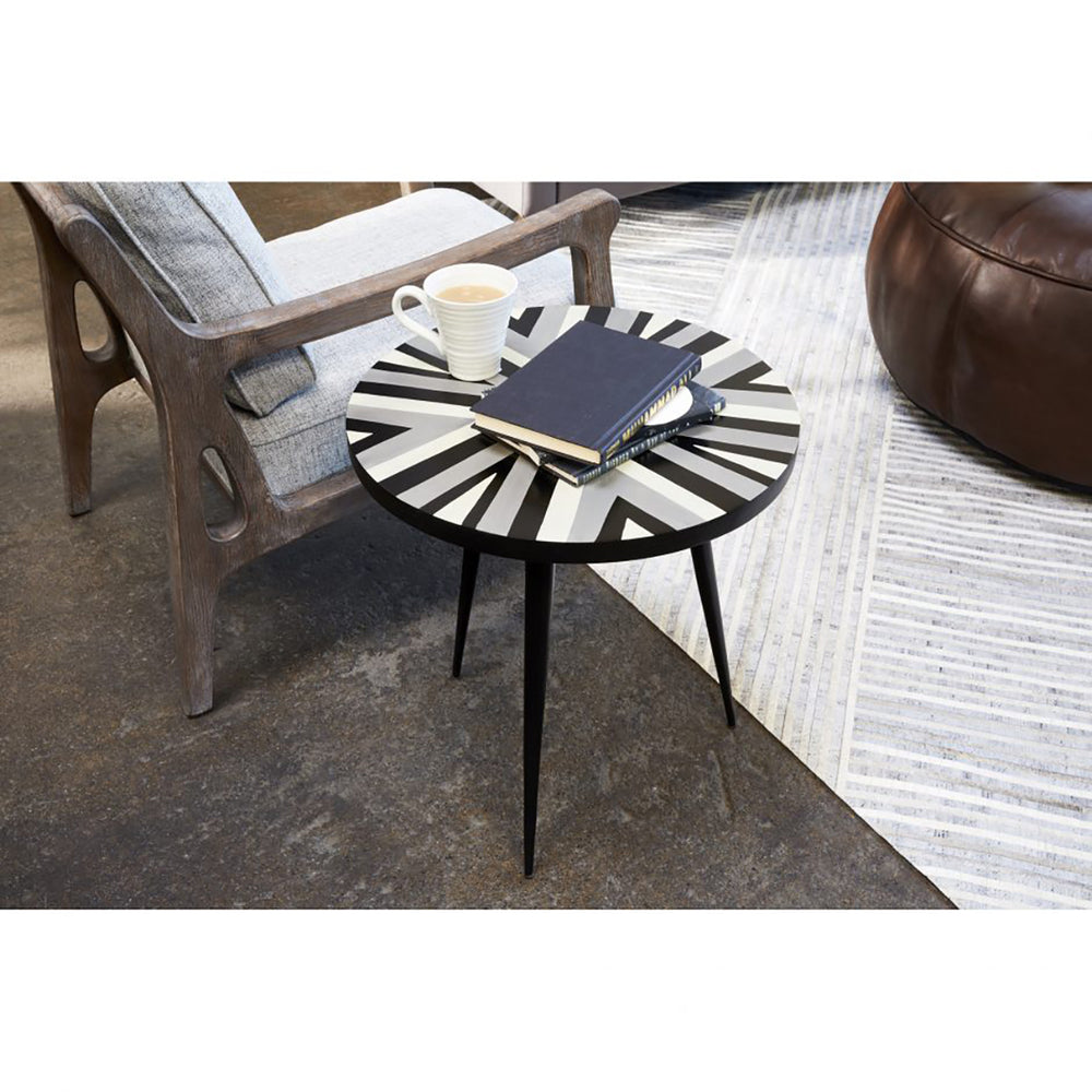 Crossing Accent Table - Multicolor