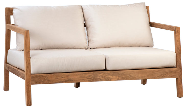 Dovetail 2 SeatTeak Sofa