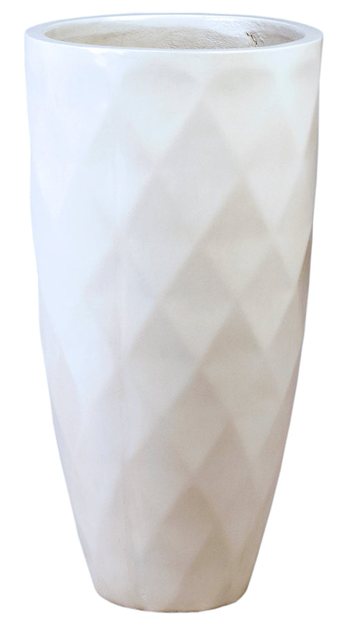 Dovetail White Planter 31