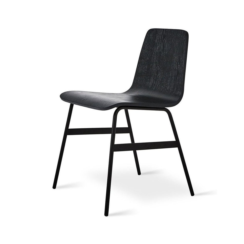 Lecture Chair (Wood) Black Ash Black Ash Dining Chair Gus*, Old Bones Co  https://www.oldbonesco.com/