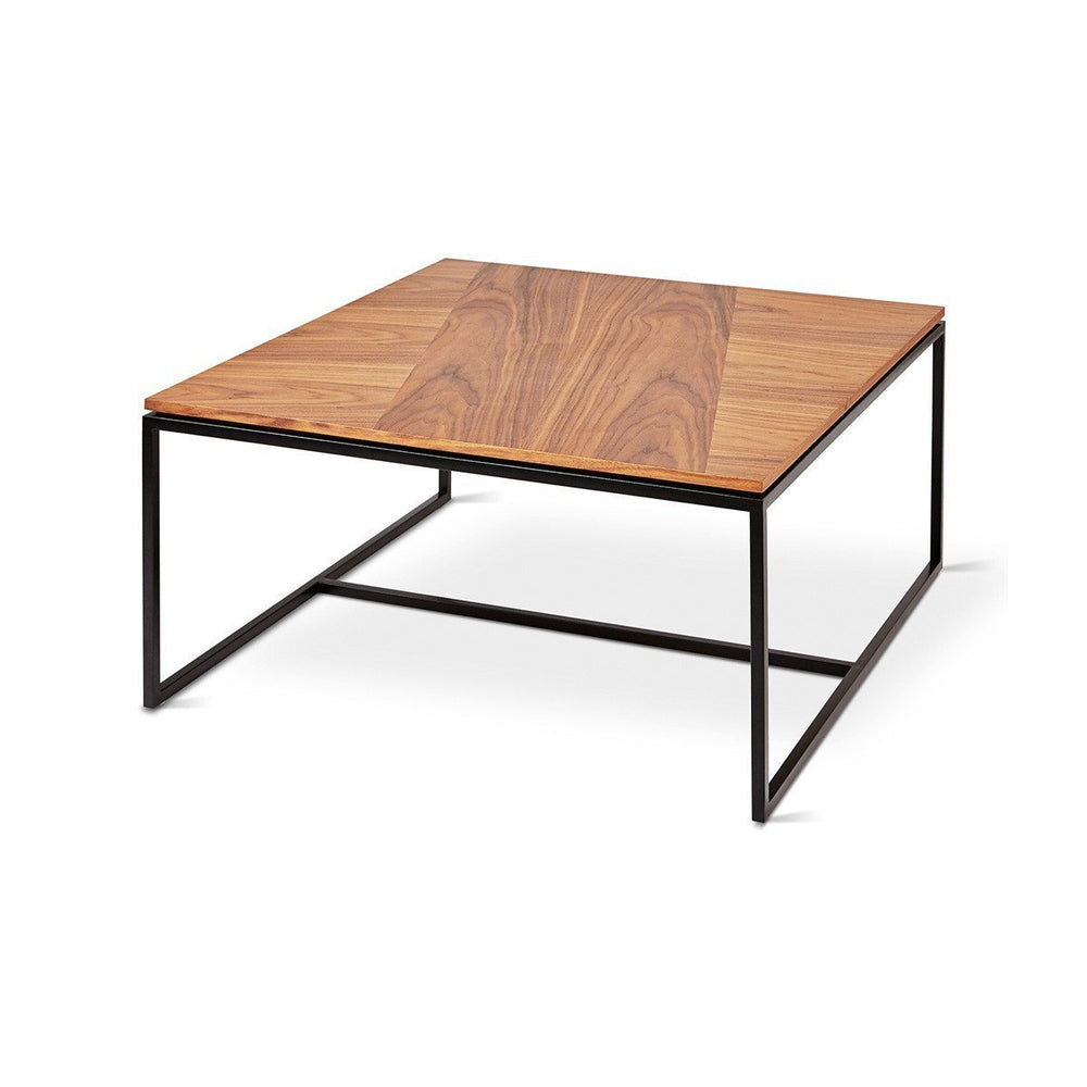Tobias Square Coffee Table Walnut & Black Walnut & Black Coffee Table Gus*, Old Bones Co  https://www.oldbonesco.com/