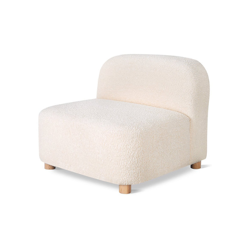 Circuit Armless Huron Ivory Huron Ivory Lounge Chair Gus* Four Hands, Mid Century Modern Furniture, Old Bones Furniture Company, https://www.oldbonesco.com/