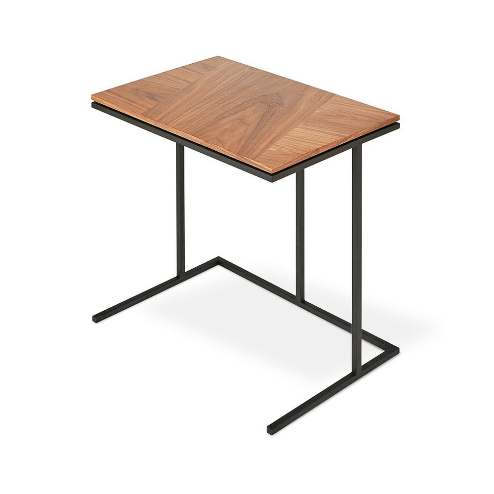 Tobias Network Table Walnut & Black Walnut & Black Desk Gus* Four Hands, Mid Century Modern Furniture, Old Bones Furniture Company, https://www.oldbonesco.com/