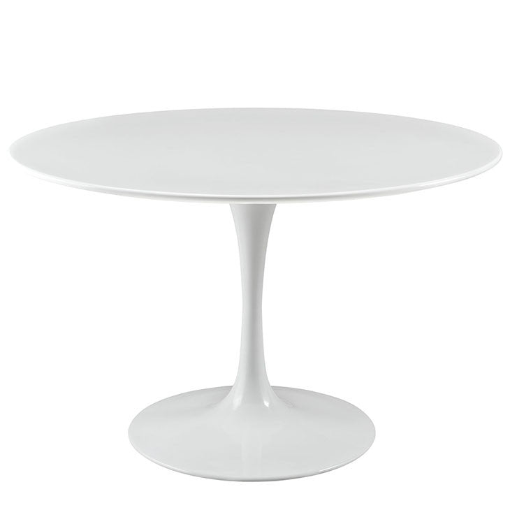 Saarinen Inspired Wood Top Dining Table - Old Bones Furniture Company