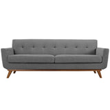 Sophia Sofa Gray Gray Sofa Modway International, Old Bones Co  https://www.oldbonesco.com/