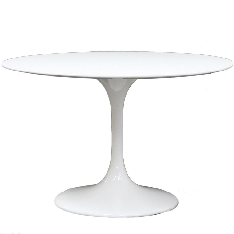 Saarinen Inspired Fiberglass Round Dining Table