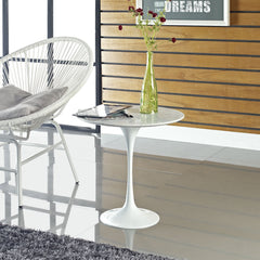 Saarinen Style Marble Side Table http://www.oldbonesco.com/ Side Table  - 4