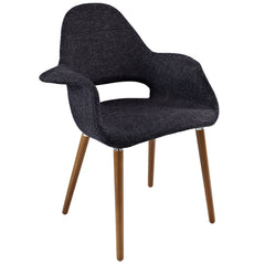 Eames Inspired Organic Twill Chair - Old Bones Furniture Company