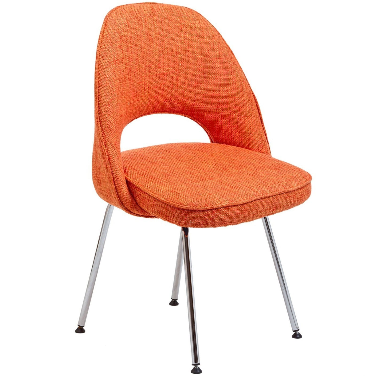 Saarinen Inspired Side Chair - Fabric - Old Bones Furniture Company