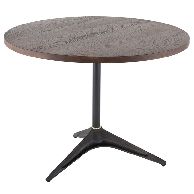 "Compass Bistro Round Talbe 40""   TABLE District Eight, Old Bones Co  https://www.oldbonesco.com/"