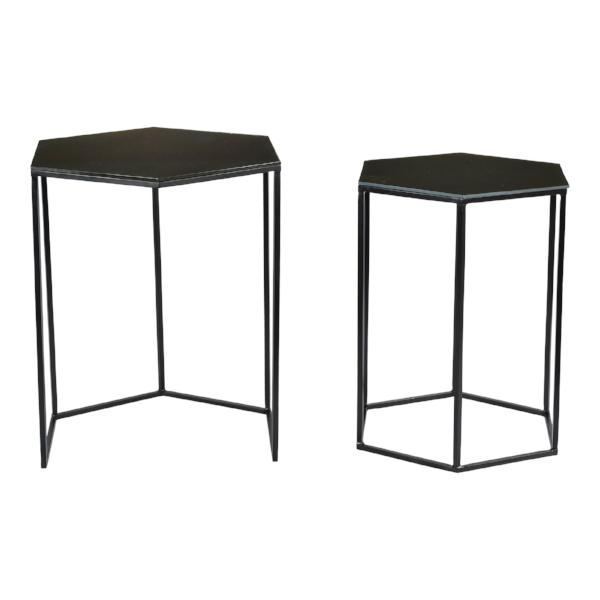 Polygon Accent Tables Set Of Two   Accent Tables Moe's Four Hands, Mid Century Modern Furniture, Old Bones Furniture Company, https://www.oldbonesco.com/
