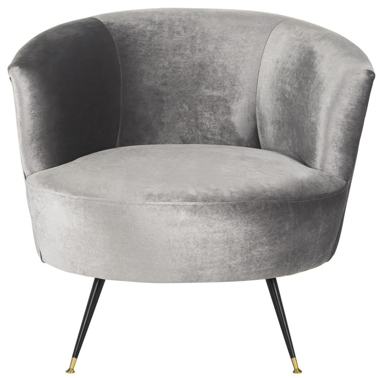 Arlette Velvet Retro Mid Century Accent Chair