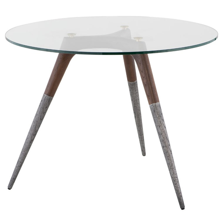 ASSEMBLY BISTRO TABLE - SMOKED