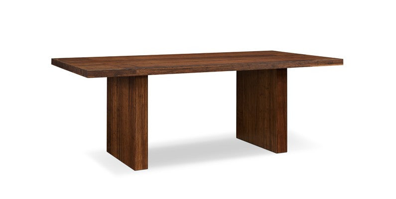 "Aurora Dining Table, 84"", Exotic   Dining Table Greenington, Old Bones Co  https://www.oldbonesco.com/"