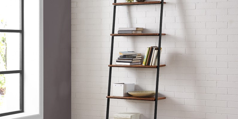 Studio Line Leaning Shelf, Exotic   Shelf Greenington Old Bones Furniture Company https://www.oldbonesco.com/