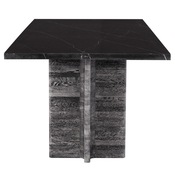 FOUNDARY DINING TABLE - BLACK