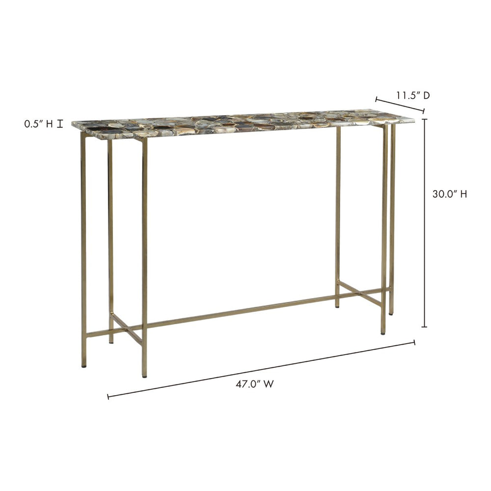 Agate Console Table - GZ-1006-37-4