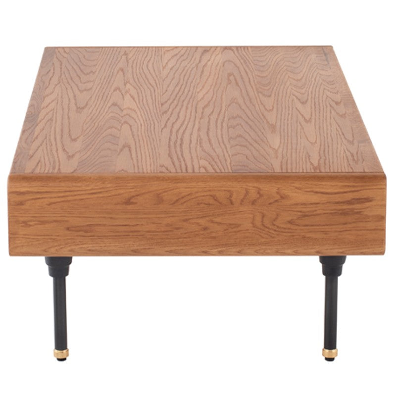 Distrikt Hard Fumed Wood Coffee Table   Coffee Table Nuevo Four Hands, Mid Century Modern Furniture, Old Bones Furniture Company, https://www.oldbonesco.com/
