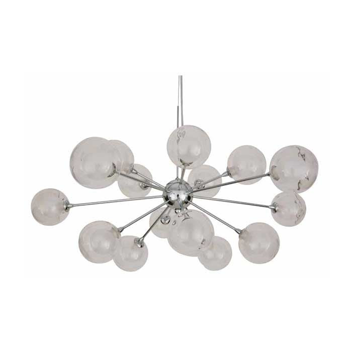 Yves Clear Glass Pendant Lighting - Old Bones Furniture Company