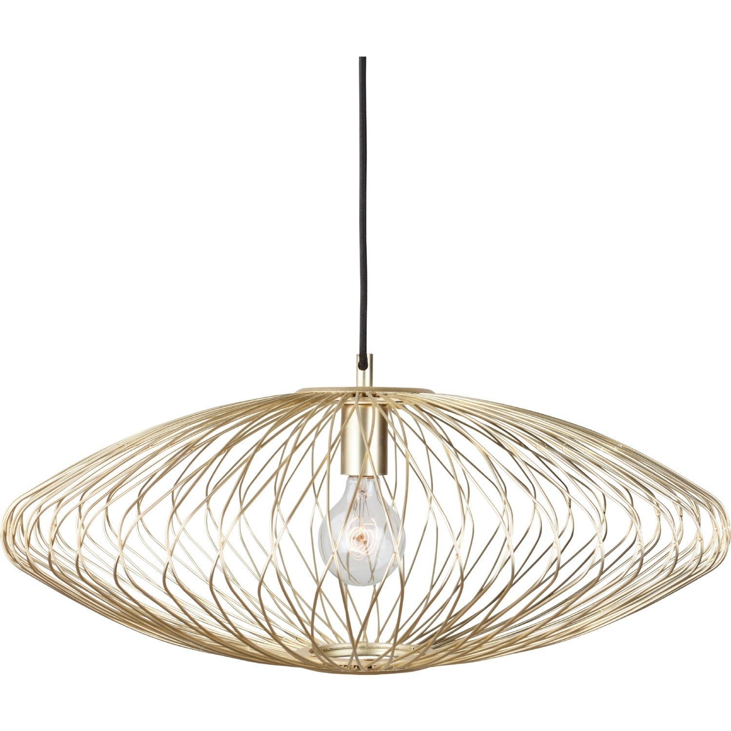 Astra Gold Metal Pendant Lighting - Old Bones Furniture Company