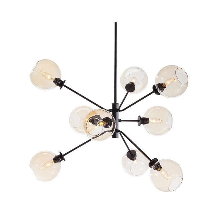 Atom Champagne Glass Pendant Lighting - Old Bones Furniture Company