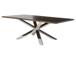 Couture Seared Wood Dining Table - Old Bones Furniture Company
