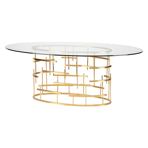 Tiffany Oval Dining Table http://www.oldbonesco.com/ Dining Table