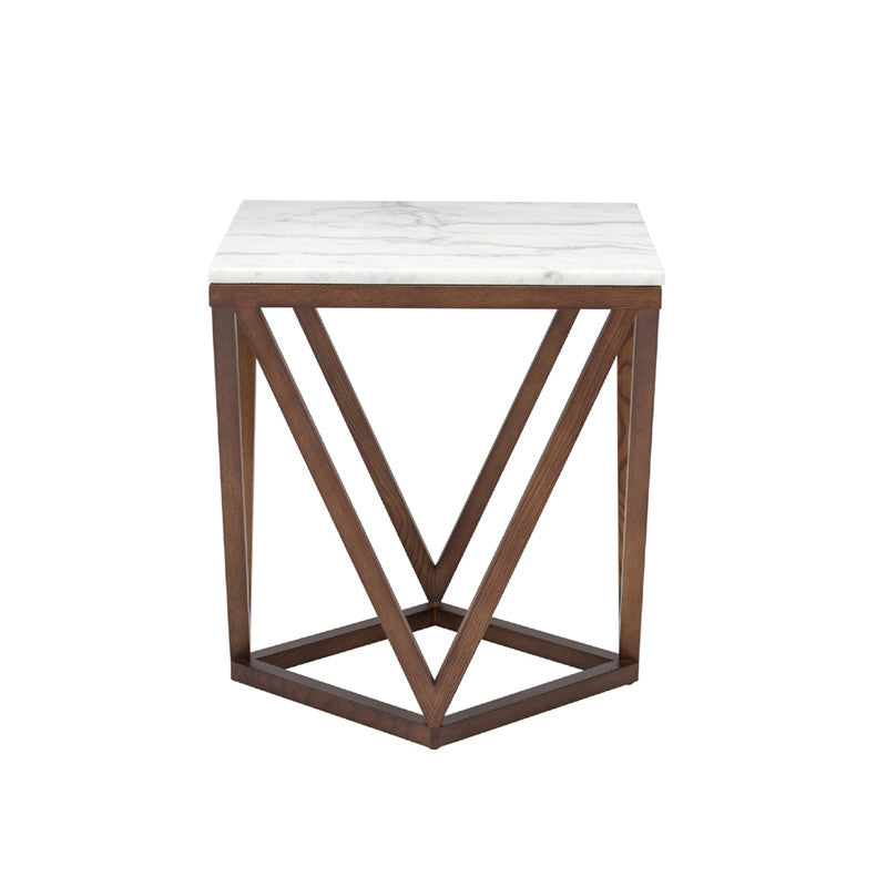Jasmine White Stone Side Table   TABLE Nuevo, Old Bones Co  https://www.oldbonesco.com/