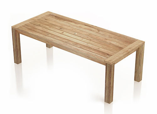 Classic Rectangular Dining Table
