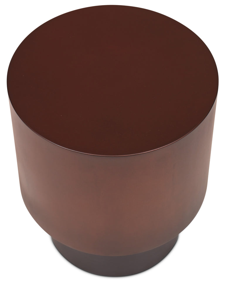 Benton Side table in Bronze