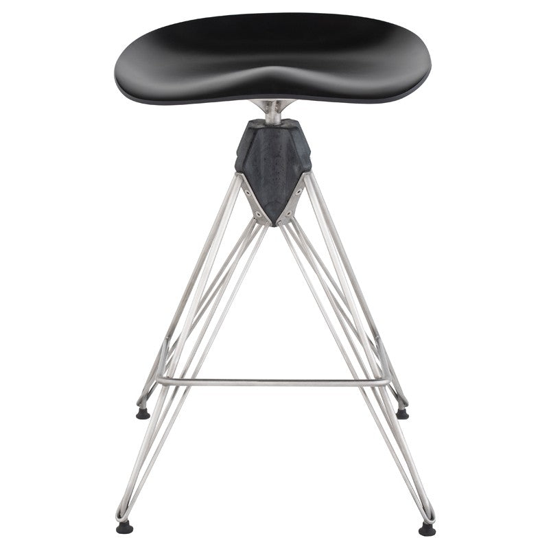 Kahn Counter Stool- Black