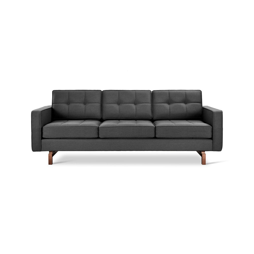 Jane 2 Sofa Urban Tweed Ink / Walnut Urban Tweed Ink Sofa Gus*, Old Bones Co  https://www.oldbonesco.com/