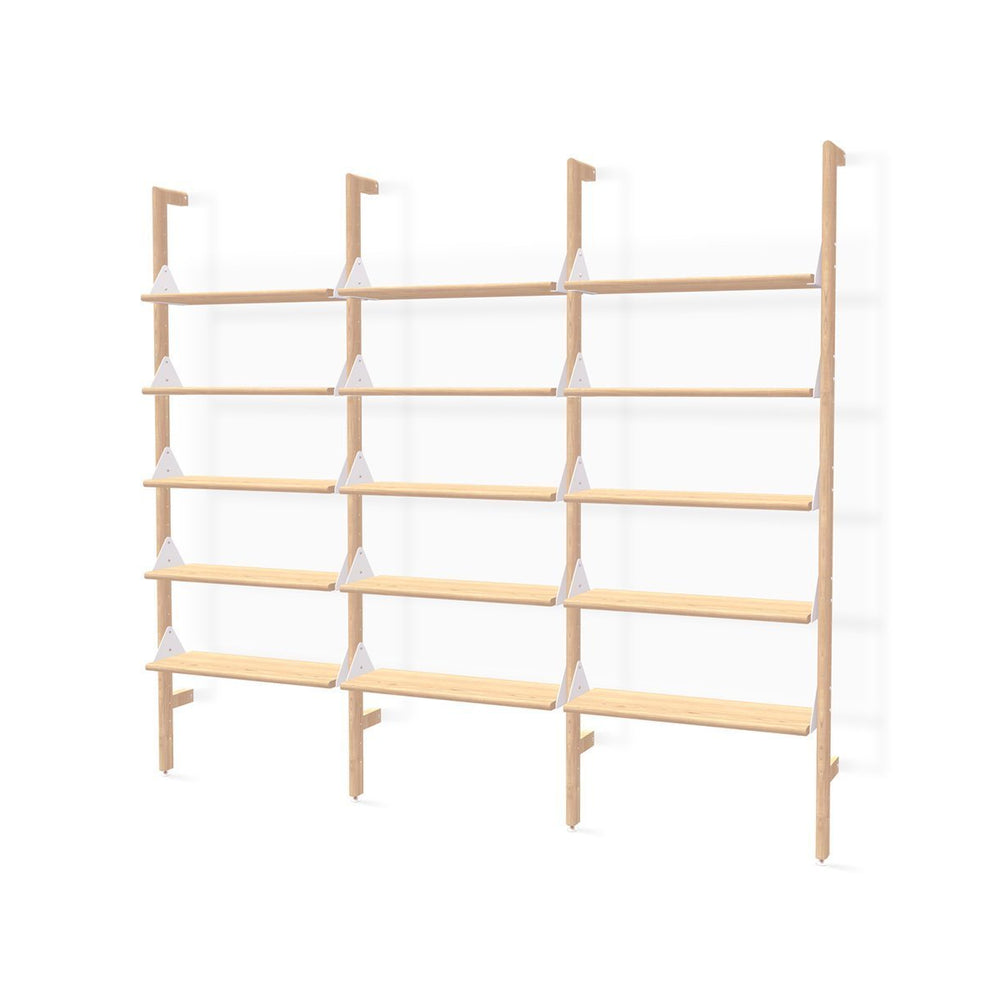 Branch-3 Shelving Unit Blond Upright/White Brack/Blond Shelv Blond Upright/White Brack/Blond Shelv SHELVING Gus* Four Hands, Mid Century Modern Furniture, Old Bones Furniture Company, https://www.oldbonesco.com/