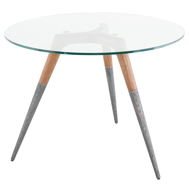 ASSEMBLY BISTRO TABLE - HARD FUMED
