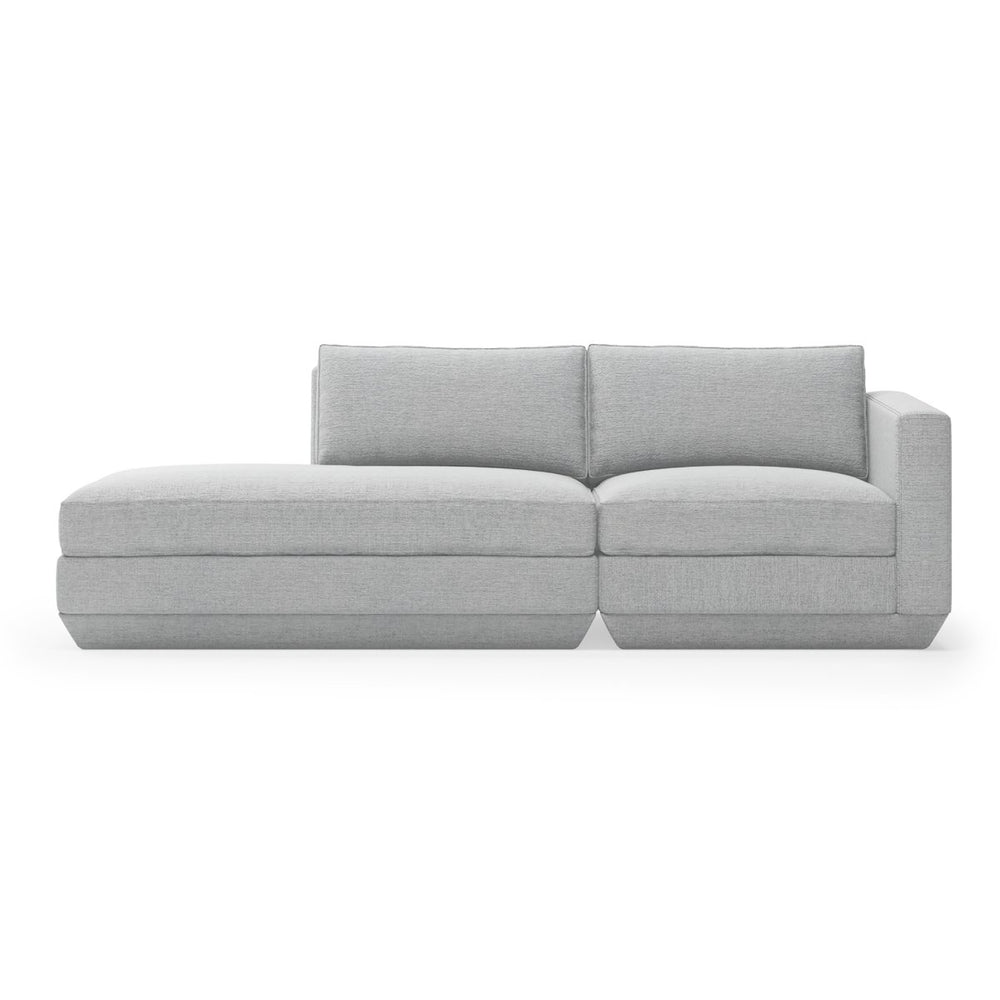 Podium Modular 2PC Lounge Sofa Left
