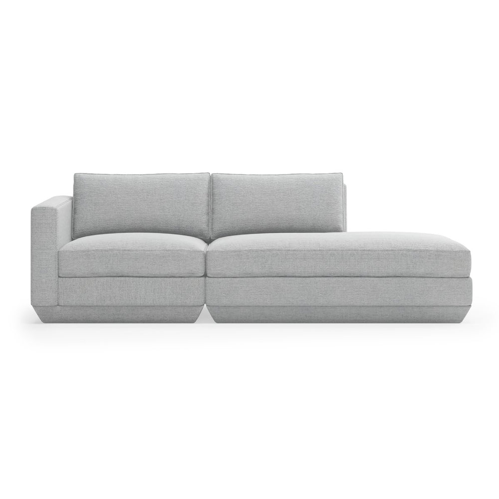 Podium Modular 2PC Lounge Sofa Right