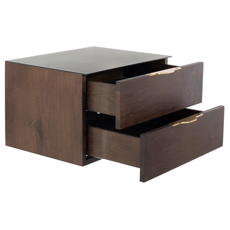 DRIFT SIDE TABLE - SMOKED