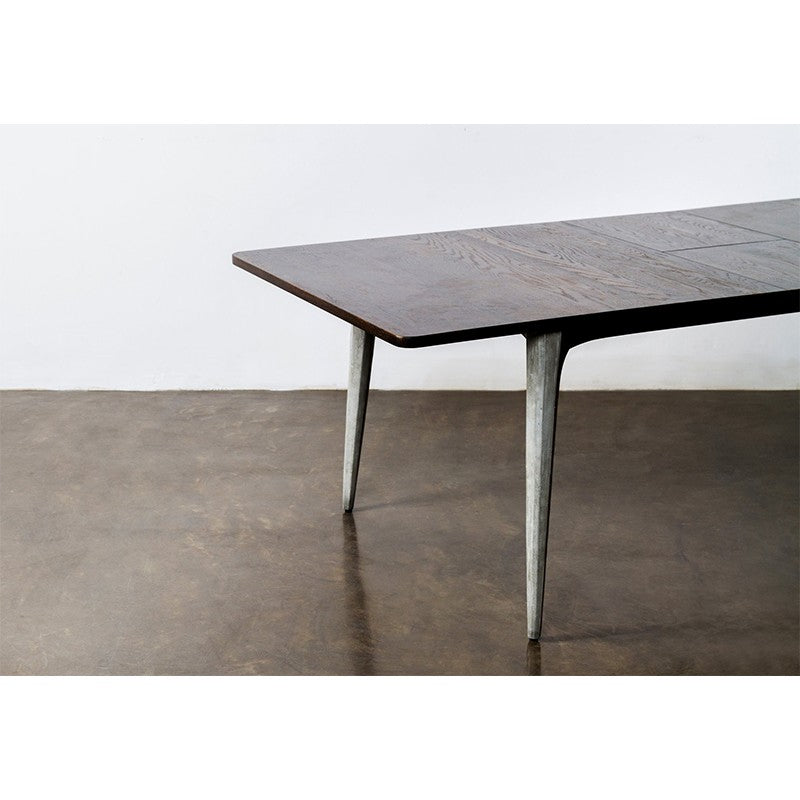 SALK DINING TABLE - SEARED